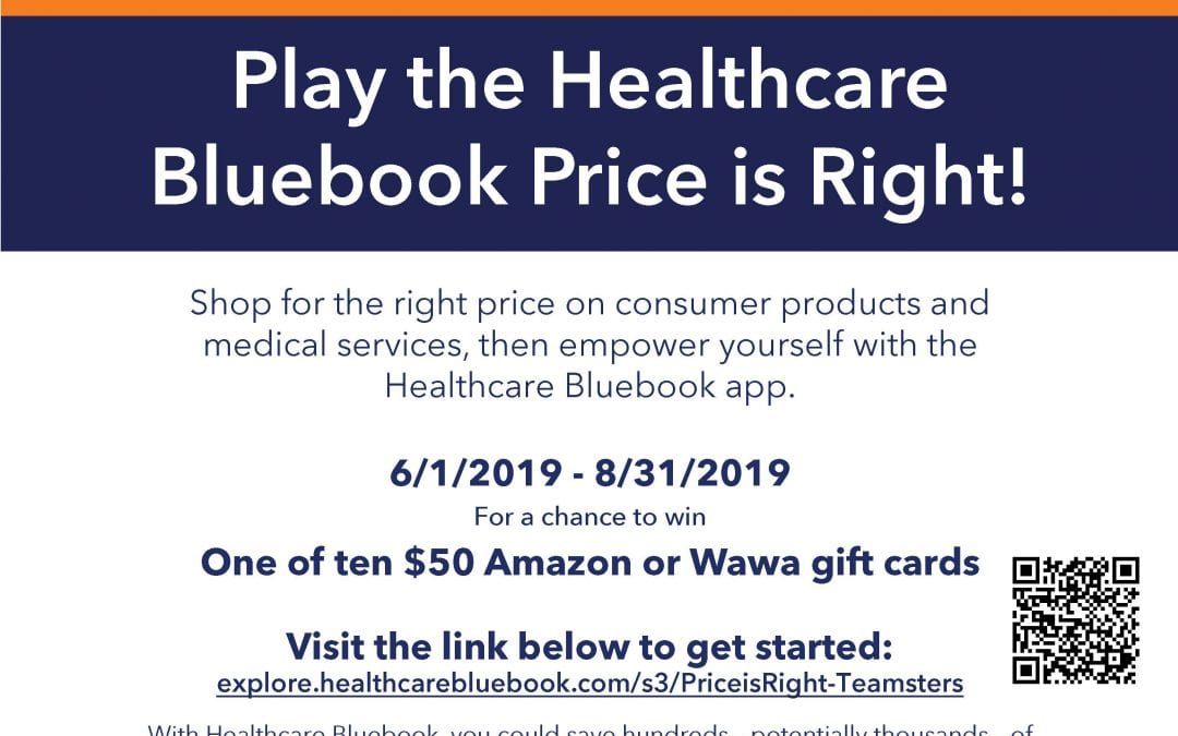 Play the Healthcare Bluebook Price is Right!!
